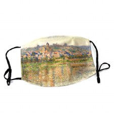 AGO Collection - Claude Monet, Vetheuil in Summer Face Mask