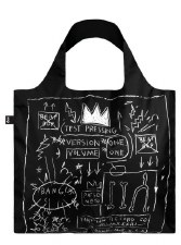 Loqui Tote - Jean Michel Basquiat - Crown