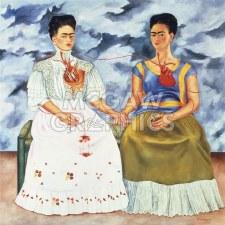 """Frida Kahlo: The Two Fridas - 11"""" x 14"""""""