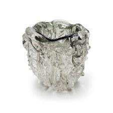 Kingston Glass Studio: Candle Holder Grey