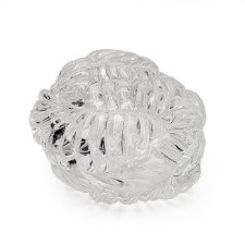 Kingston Glass Studio: Clear Coral