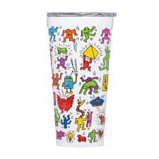 Corkcicle Haring Pop Party Travel Tumbler