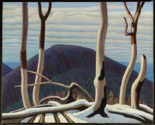 Lawren S. Harris: Above Lake Superior, c. 1922 - Art Block Format