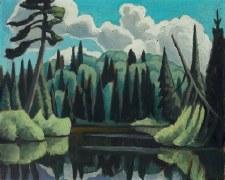 Lawren S. Harris: Lake Algonquin Park, N.D. Art Block Format