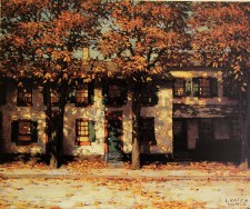 Lawren S. Harris: Houses, Richmond Street, 1911