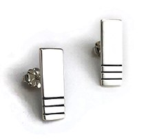 Lesley Ashton: 'Lines' Stud Earrings