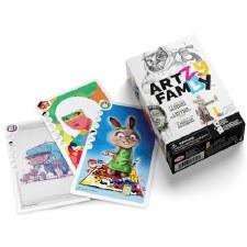 """Lalita's Art Shop: """"Artzy Famly""""  Game"""