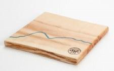 Live Edge Forest: Square Maple River Board