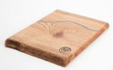 Live Edge Forest: Square Oak River Board