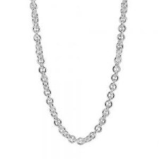 """Lisa Ridout: Necklace, Solo Link Adjustable 16-18"""""""