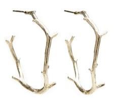 Laura Serrafero: Twig Earrings