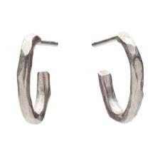 Laura Serrafero: Oval Earrings