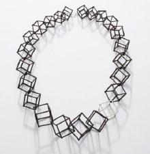Elizabete Ludviks: Cube Necklace
