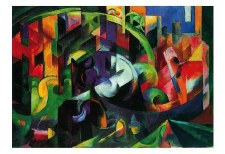 """Franz Marc: Abstract With Cattle - 11"""" x 14"""""""