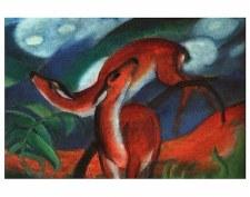 """Franz Marc: Red Deer II - 11"""" x 14"""""""