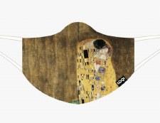 Loqi - Klimt, The Kiss Face Mask