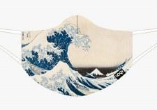 Loqi - Hokusai, The Great Wave Face Mask