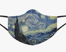 Loqi - Van Gogh, Starry Night Face Mask