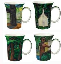 Emily Carr Set of 4 Mugs