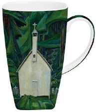 Emily Carr: Church In Yuquot Grande Mug