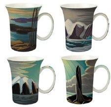 Lawren S. Harris: Set of 4 Mugs