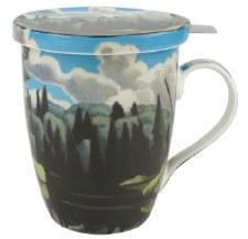 Lawren S. Harris: Lake in Algonquin Park Tea Mug w/ Infuser and Lid