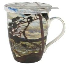 Tom Thomson: The West Wind Tea Mug w/ Infuser and Lid