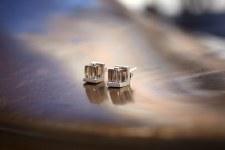 Margaret Lim: Cubes Stud Earrings