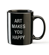AGO  Art Makes You Happy Mug
