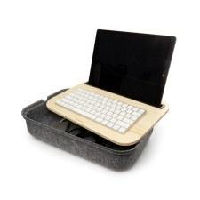 Ibed Felt Lap Desk With Storage
