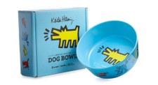 Plant Alchemy x Keith Haring Dog Bowl  Blue
