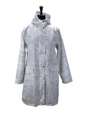 Raven Transforming Rain Coat - White L/XL