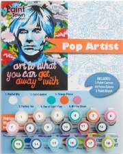 Pop Art Paint by Numbers Kit