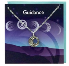 "Necklace by Maynard Johnny Jr.: Moon ""Guidance""  Card Set"