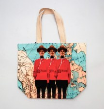Persnickety Mounties Tote