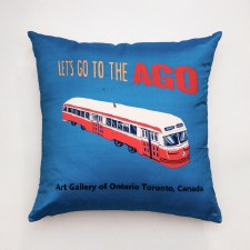 Persnickety Let's Go AGO Pillow