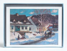 Holiday Notecards  AGO  Collection: Clarence Gagnon Holiday