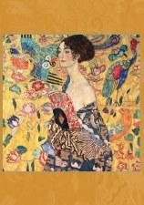Gustav Klimt: Woman with Fan Boxed Cards