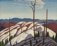 Lawren S. Harris, First Snow, North Shore of Lake Superior - Holiday Cards