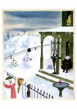 Charles Addams, The Addams Family Snowmen - Holiday Cards