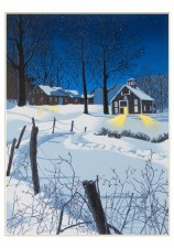 William H. Hayes, Midnight Clear - Holiday Cards