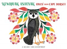 Kenojuak Ashevak, Owls from Cape Dorset - Holiday Card Assortment