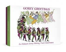 Edward Gorey, Gorey Greetings - Holiday Card Assortment