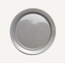 Large Plate Slate Gray
