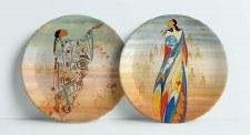 Maxine Noel: Set of 2 Artist Plates