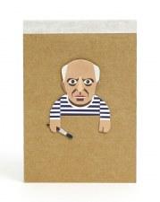 Noodoll Cubist Notebook
