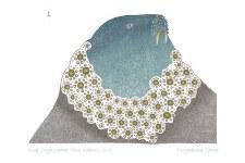 Ningiukulu Teevee: Blue Walrus Matted Print