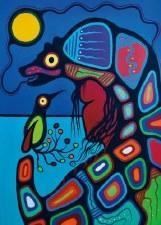 Frank Polson: Bear Clan Matted Print
