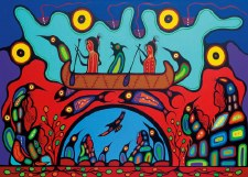 Frank Polson: Sacred Journey Matted Print