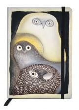 Ningeokuluk Teevee: Owls in Moonlight Notebook